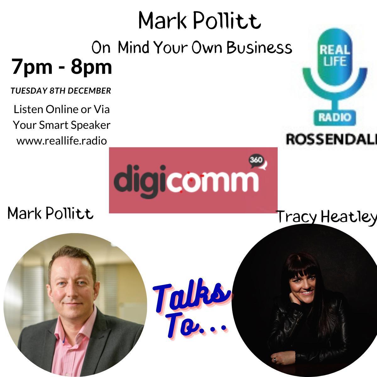 Mark Pollitt & Tracy Heatley On Real Life Radio
