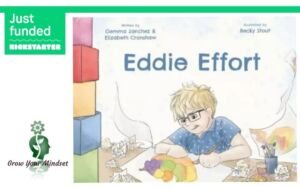 Eddie Effort Children's Book Front Cover